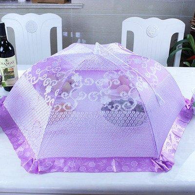 Food, può essere piegato dimensioni copertura tavolo rotondo per alimenti Ciotola Cover FLY-LEAF senape frutta cibo Cover 2