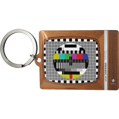 Nostalgic Art 47015Retro Wave TV, Porte-clés, 6x 4,5cm