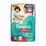 #1: Pampers New Large Size Diapers Pants (68 Count)