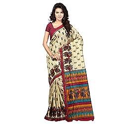 Parinaaz fashion Saree Fabric : Bhagalpuri Silk Blouse Fabric : Bhagalpuri Silk