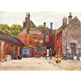 At the back of The White Hart, St. Ives, by Edward Walker (Print On Demand)