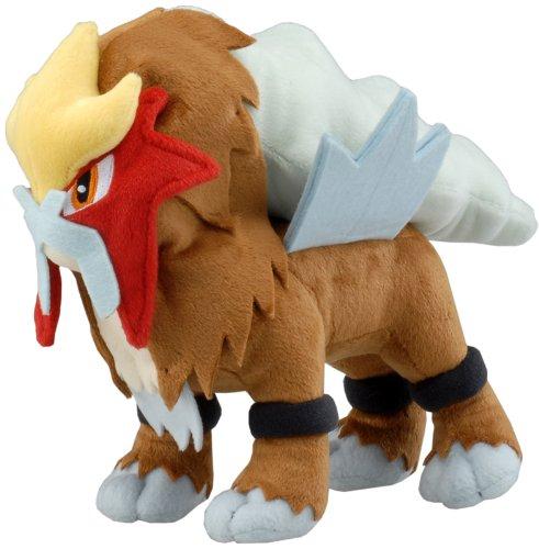 Entei Pokémon Gold & Silver Legendary Beast Plushie