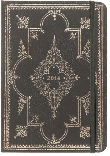 2014 Obsidian 16-Month Weekly Planner (Compact Engagement Calendar, Diary)