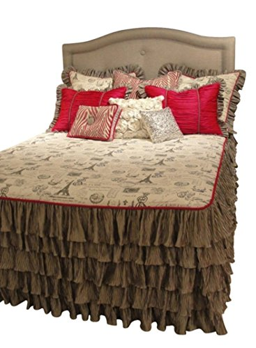 Eiffel Tower Bedding Twin 8507 front