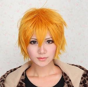 Tutor Uzumaki Golden Anti-Alice Cosplay Wig