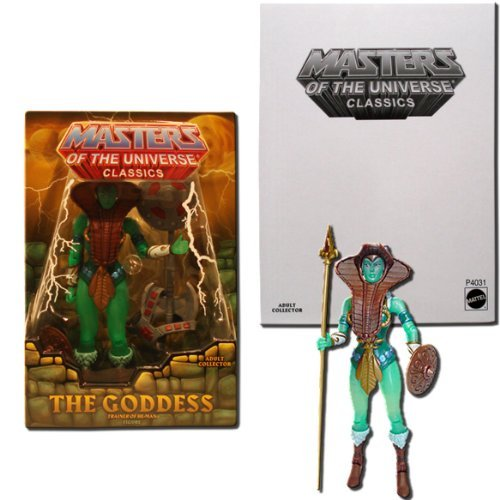 HeMan Masters of the Universe Classics Exclusive Action Figure Goddess by Masters of the Universe