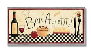 Stupell Home Bon Appetit Kitchen Wall Plaque