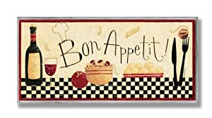 amazon com the stupell home decor collection bon appetit