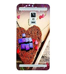 PrintVisa Romantic Love Hearts Cake 3D Hard Polycarbonate Designer Back Case Cover for VivoX3S