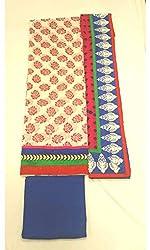 BEAUVILLE VAIIBAVAM Women's Unstiched Salwar Material (BVPCUC_46_Multi_Free Size)
