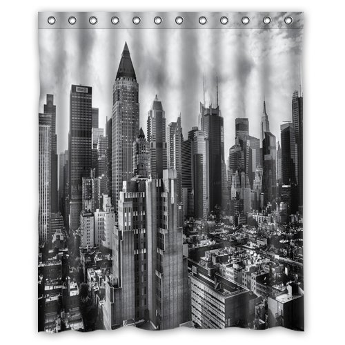 Gotham City Skyline Shower Curtain