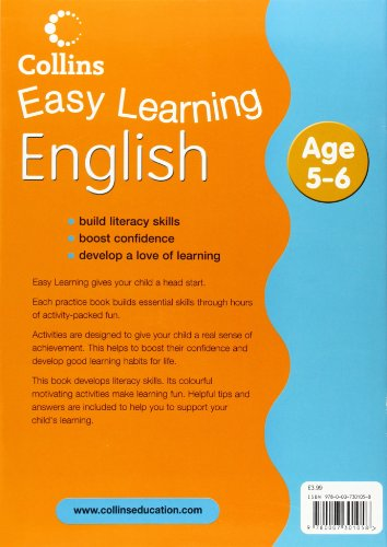 English: Age 5-6 (Collins Easy Learning Age 5-7)