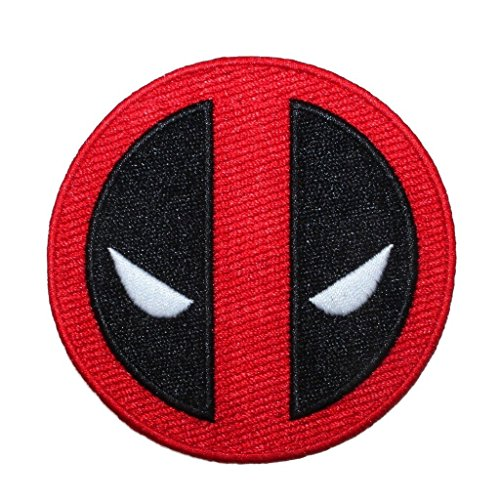J&C Family Owned Marvel Deadpool Logo Embroidered Patch
