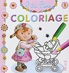 Coloriage P'tite fille : Num�ro 1