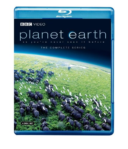 Cover art for  Planet Earth: The Complete BBC Series [Blu-ray]