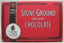 Taza Chocolate 80% Dark Stone Ground Organic Chocolate 3 Oz.
