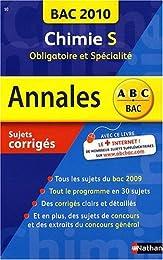Chimie Tle S, obligatoire et spécialité : Sujets corrigés