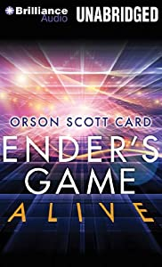 Ender's Game Alive: The Full-Cast Audioplay by Orson Scott Card, KirHeyborne, Stefan Rudnicki and Theodore Bikel