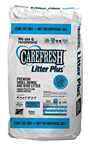 Care Fresh Litter SAB100271 Absorption Carefresh Store Use Litter Plus Large Animal Bedding, 35 Litres