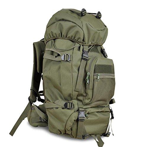 Un nuova giornata sport all'aperto alpinismo borse moda frenzy Campeggio capacitš€ 3D pacchetto 60L , green