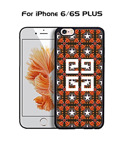 Givenchy IPhone 6 Plus Custodia Case, Brand Logo Snap On Slim Ultra Thin High Impact Protector Solid Fit for IPhone 6 6s Plus (5.5 inch)