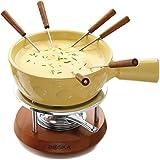 Boska Holland Geneva Collection Cheese Fondue Set, Yellow