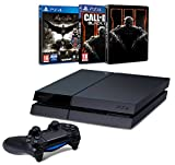 Pack PS4 500 Go + Batman : Arkham Knight + Call of Duty : Black Ops III + Steelbook