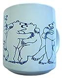 Animates Blue Daytime Bears Mug - Taylor & Ng