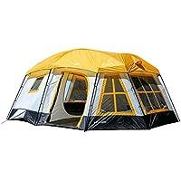 Tahoe Gear Ozark 16-Person 3-Season Cabin Tent (Orange)