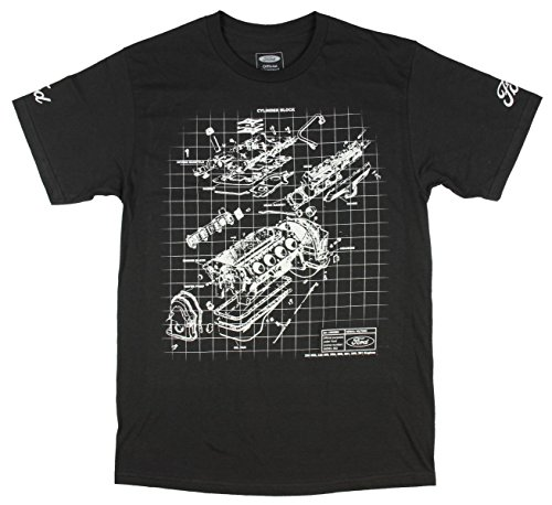 ford-engine-block-schematic-graphic-t-shirt-large