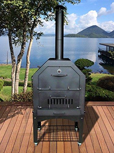 断熱仕様 エコ・衛生的で電気よりコスト安い ピザオーブン J71-X2
