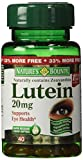 Nature039s Bounty Lutein 20mg 33 Bonus Size Bottles 80 Softgels 2 X 40 Count Bottles Discount