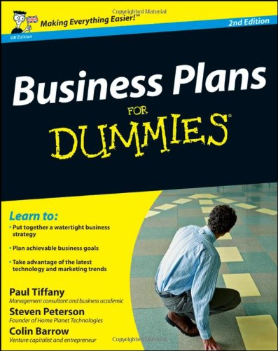 Business Plan For Dummies For Dummies Business Plan