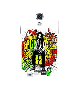 EPICCASE Graffiti bob marle Mobile Back Case Cover For Samsung Galaxy S4 Mini (Designer Case)
