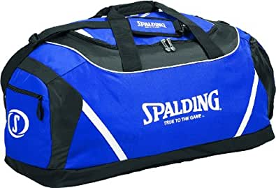 Spalding Sac de sport mixte adulte Bleu Roi/Noir/Blanc 57 x 31 x 20 cm