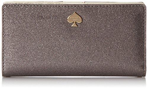 kate spade NEW YORK Glitter Bug Stacy 密斯长款钱包 $55.99+$2.79直邮中国(需用码,约¥370)
