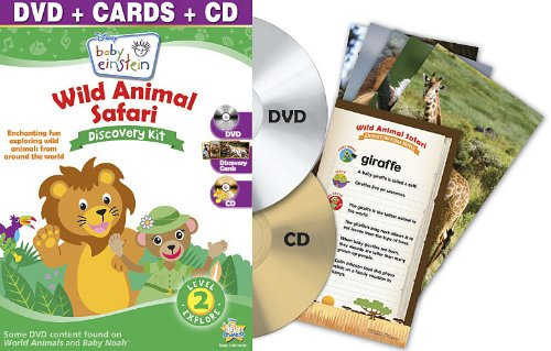 Baby Einstein: Wild Animal Safari Discovery Kit (One-Disc Dvd + Cd And Discovery Cards)