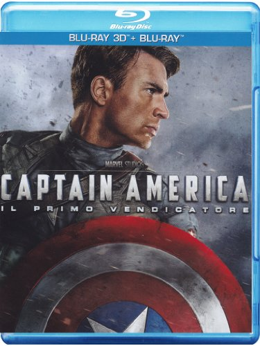 Captain America - Il primo vendicatore (2D+3D) [Blu-ray] [IT Import]