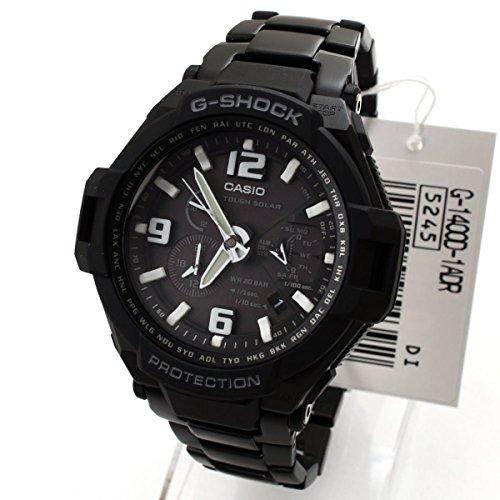 Casio G-1400D-1ANDR - Reloj de pulsera hombre, acero inoxidable, color negro