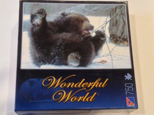 Grizzly Bear Puzzle Wonderful World 750 Pieces
