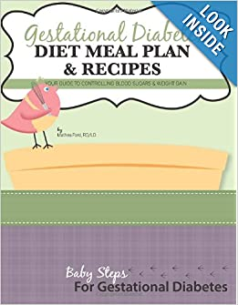 Gestational Diabetes Diet Meal Plan and Recipes