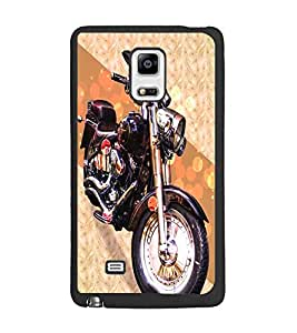 PrintDhaba Bike D-5845 Back Case Cover for SAMSUNG GALAXY NOTE EDGE (Multi-Coloured)