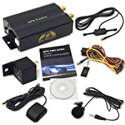 GPS Car Tracker with GPRS and Vehicle Theft Protection: Amazon.co.uk: Electronics