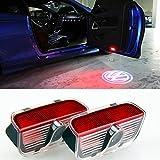 Inlink� Autot�r Logo Projektion Licht Car Door Shadow Light Logo Projector F�r Volkswagen VW Touareg CC Sharan Scirocco Magotan Sagitar Passat Tiguan
