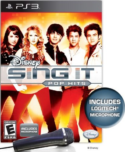 Disney Sing It: Pop Hits Bundle - Playstation 3 (Bundle With Microphone)