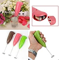 Travellers First ChoicePortable Hand Blender For Lassi, Milk, Coffee, Egg Beater Mixer Battery Operated