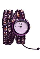 On the Rocks Classic Wrap Watch Color: Purple Haze, Style: Double Wrap Watch