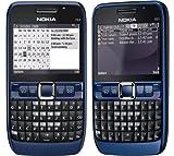 Original Genuine Nokia E63 Unlocked Full keyboard 3G Smart Business mobile phone (Blue)