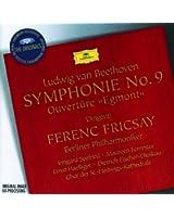 Beethoven: Egmont Overture; Symphony No.9