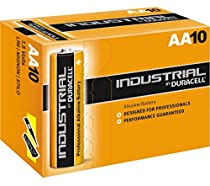 Duracell LR6 Industrial 10 piles AA